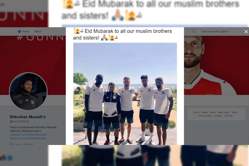 Skhodran Mustafi ucapkan Selamat Idul Fitri