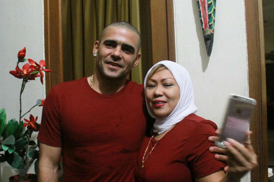Libur lebaran Gonzales dan istri